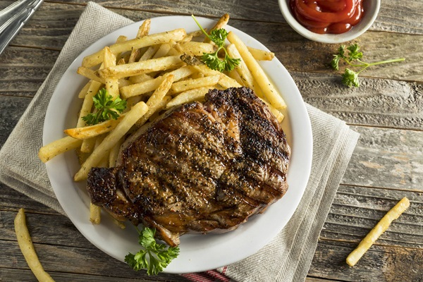 recipe image Steak frites
